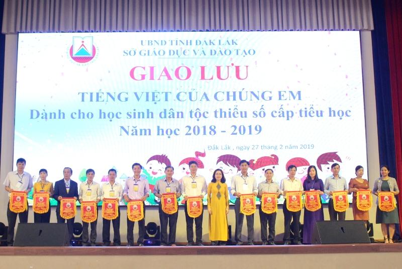 """Khai mạc Giao lưu """"Tiếng Việt của chúng em"""" năm học 2018-2019"""
