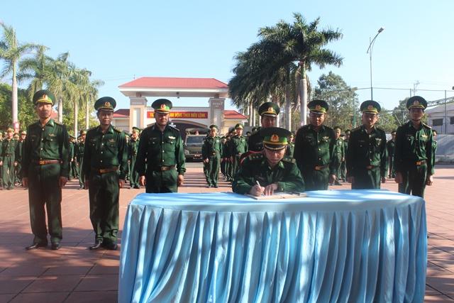 Bộ Chỉ huy Bộ đội Biên phòng tỉnh Đắk Lắk tổ chức lễ ra quân huấn luyện năm 2019