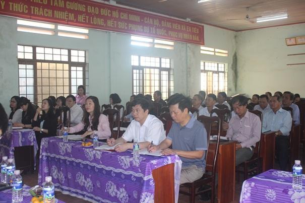 Ngân hàng Nhà nước khảo sát cho vay tiêu dùng tại xã Ea Tiêu