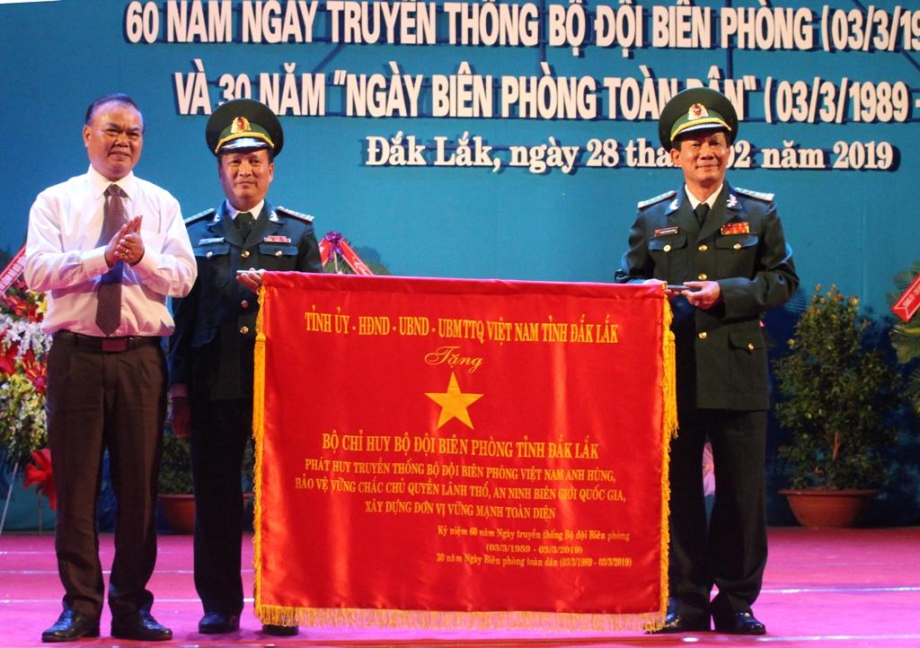 Tỉnh Đắk Lắk kỷ niệm 60 năm Ngày truyền thống Bộ đội Biên phòng và 30 năm Ngày Biên phòng toàn dân