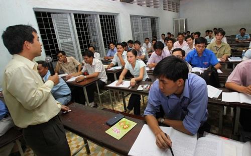 Chủ trương liên kết đào tạo trình độ đại học năm 2019 cho Trung tâm Giáo dục Thường xuyên tỉnh.