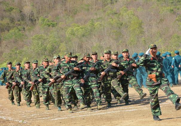 Thành phố Buôn Ma Thuột ra quân huấn luyện dân quân tự vệ - dự bị động viên  năm 2019