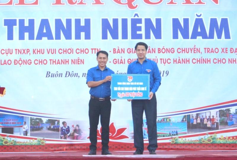 Ra quân Tháng Thanh niên tỉnh Đắk Lắk năm 2019