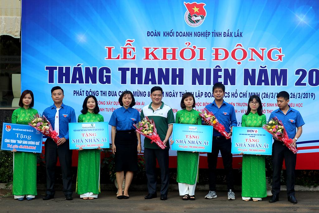 Đoàn khối Doanh nghiệp tỉnh Đắk Lắk khởi động Tháng Thanh niên năm 2019