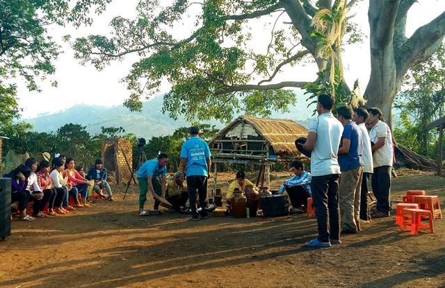 Đoàn nghệ nhân huyện Lắk sẽ phục dựng nghi lễ cúng mừng lúa mới tại Lễ hội cà phê Buôn Ma Thuột