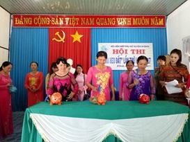 Hội LHPN huyện M'Đrắk xây dựng quỹ hỗ trợ phụ nữ nghèo