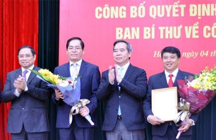 Đồng chí Y Thanh Hà Niê Kđăm giữ chức Bí thư Đảng ủy Khối Doanh nghiệp Trung ương nhiệm kỳ 2015-2020