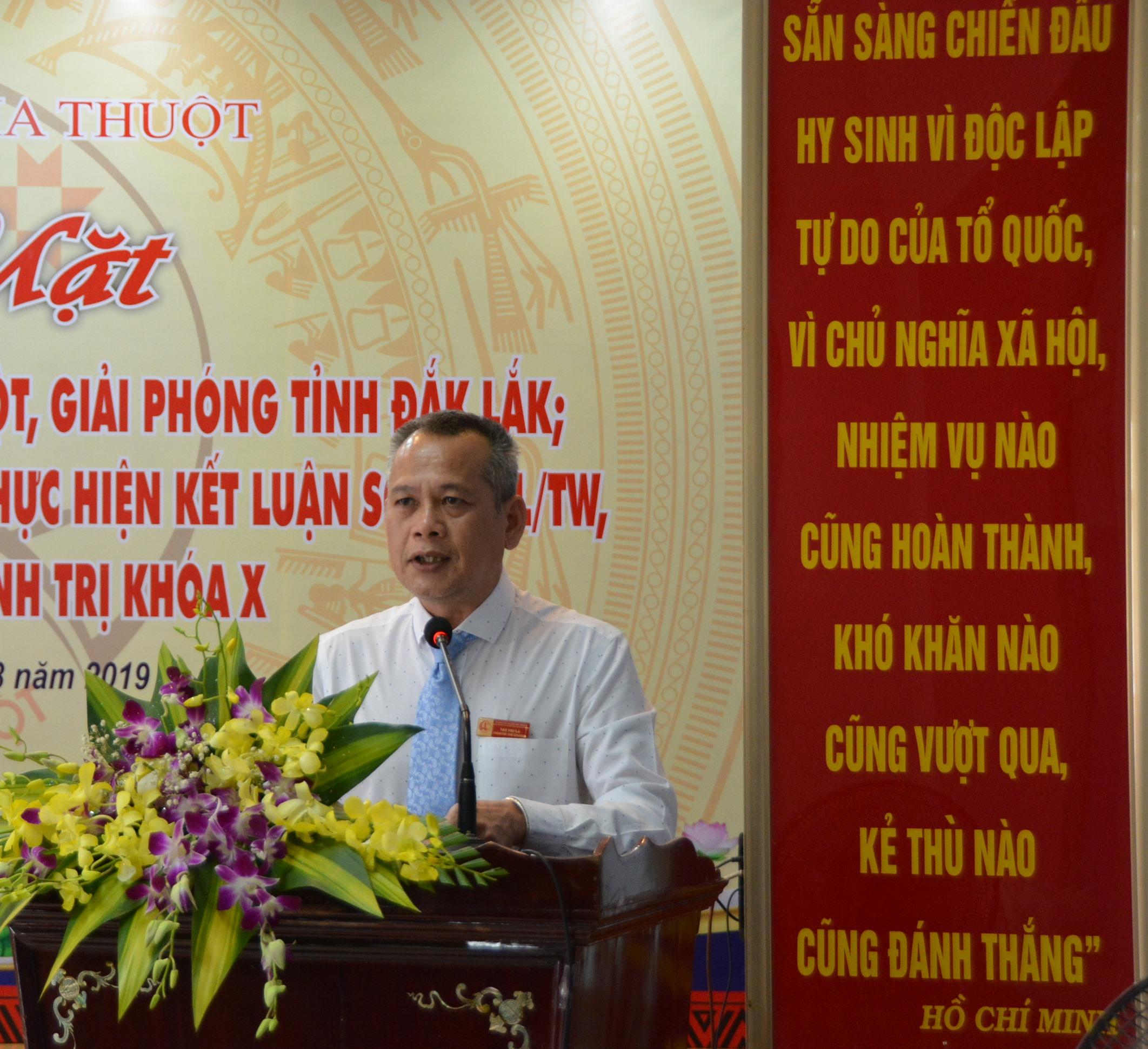 Thành phố Buôn Ma Thuột gặp mặt kỷ niệm 44 năm Chiến thắng Buôn Ma Thuột, giải phóng tỉnh Đắk Lắk.