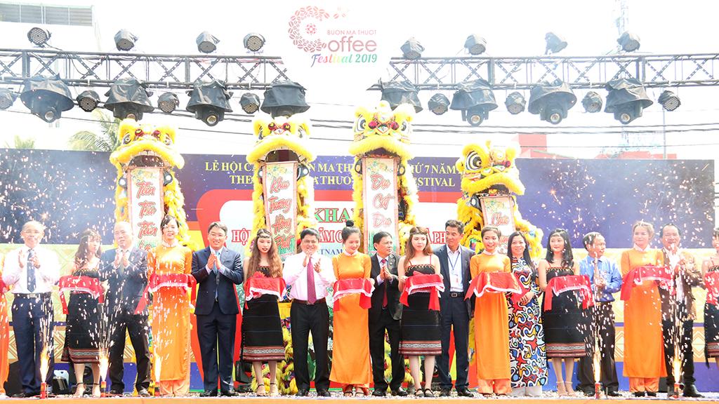 Khai mạc Hội chợ - Triển lãm chuyên ngành cà phê