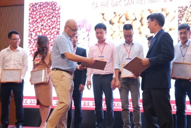Lễ trao giải Cà phê đặc sản tại Lễ hội Cà phê Buôn Ma Thuột lần 7/2019