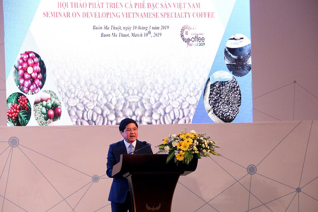 Hội thảo phát triển cà phê đặc sản Việt Nam