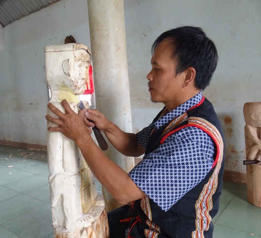 Ngày hội văn hóa dân gian và ẩm thực truyền thống của đồng bào dân tộc Ê Đê tại xã Ea Tu huyện Cư M'gar