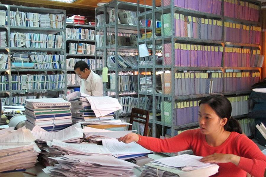 Báo cáo tổng kết 15 năm thực hiện Nghị định số 110/2004/NĐ-CP của Chính phủ về công tác văn thư.