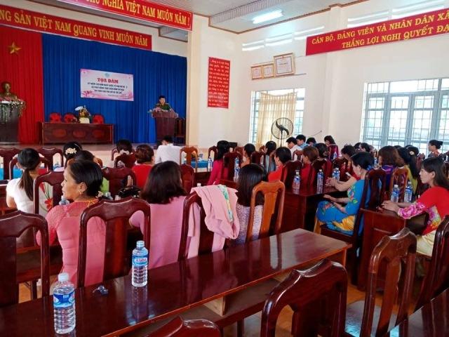 Hội LHPN huyện Krông Ana tổ chức buổi truyền thông nói không với tín dụng đen