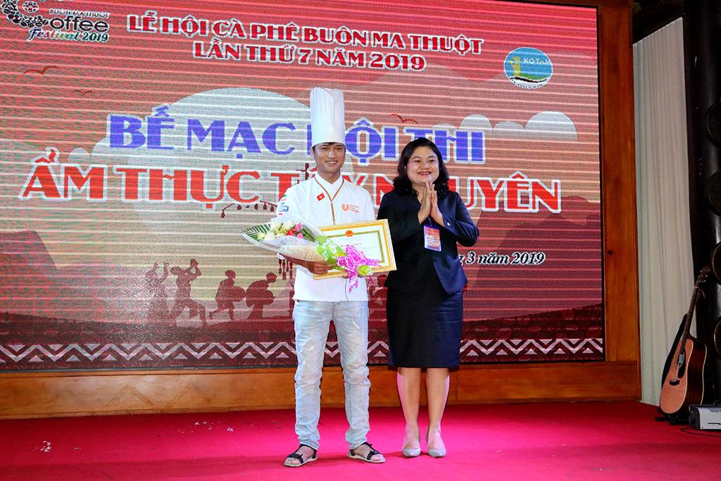 Hội thi ẩm thực Tây Nguyên năm 2019: Câu lạc bộ ẩm thực Gia Lai giành giải Nhất