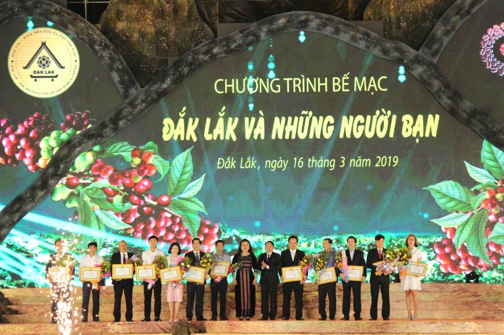 Bế mạc Lễ hội Cà phê Buôn Ma Thuột lần thứ 7 năm 2019: Đắk Lắk và những người bạn