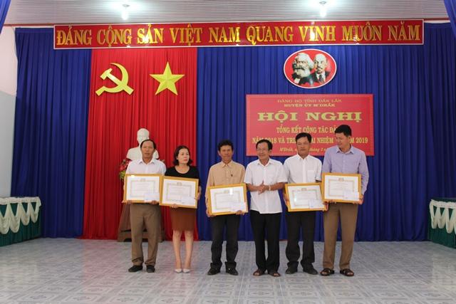 Huyện ủy M'Đrắk triển khai nhiệm vụ năm 2019