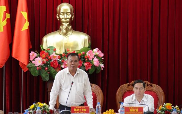 Đoàn kiểm tra Ban Chỉ đạo Trung ương làm việc với Tỉnh ủy về công tác dân tộc