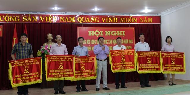 Ban Tổ chức Tỉnh ủy triển khai công tác xây dựng Đảng 2019