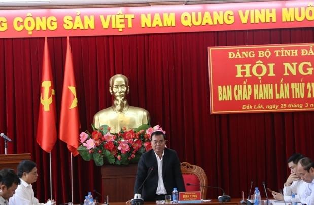 Hội nghị Ban Chấp hành Đảng bộ tỉnh (mở rộng) lần thứ 21