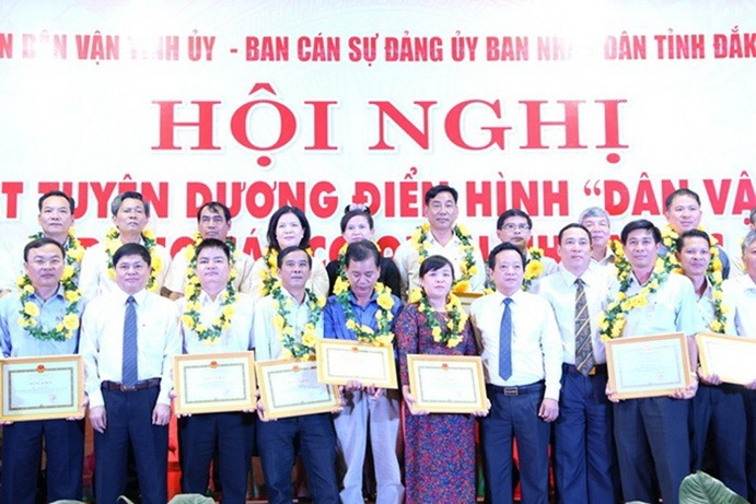 Đắk Lắk chung sức xây dựng Đảng, xây dựng chính quyền vững mạnh toàn diện.