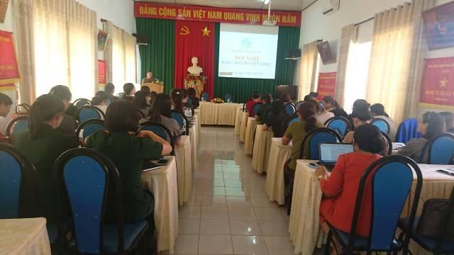 Hội Liên hiệp Phụ nữ tỉnh tổ chức Hội nghị báo cáo viên quý I năm 2019
