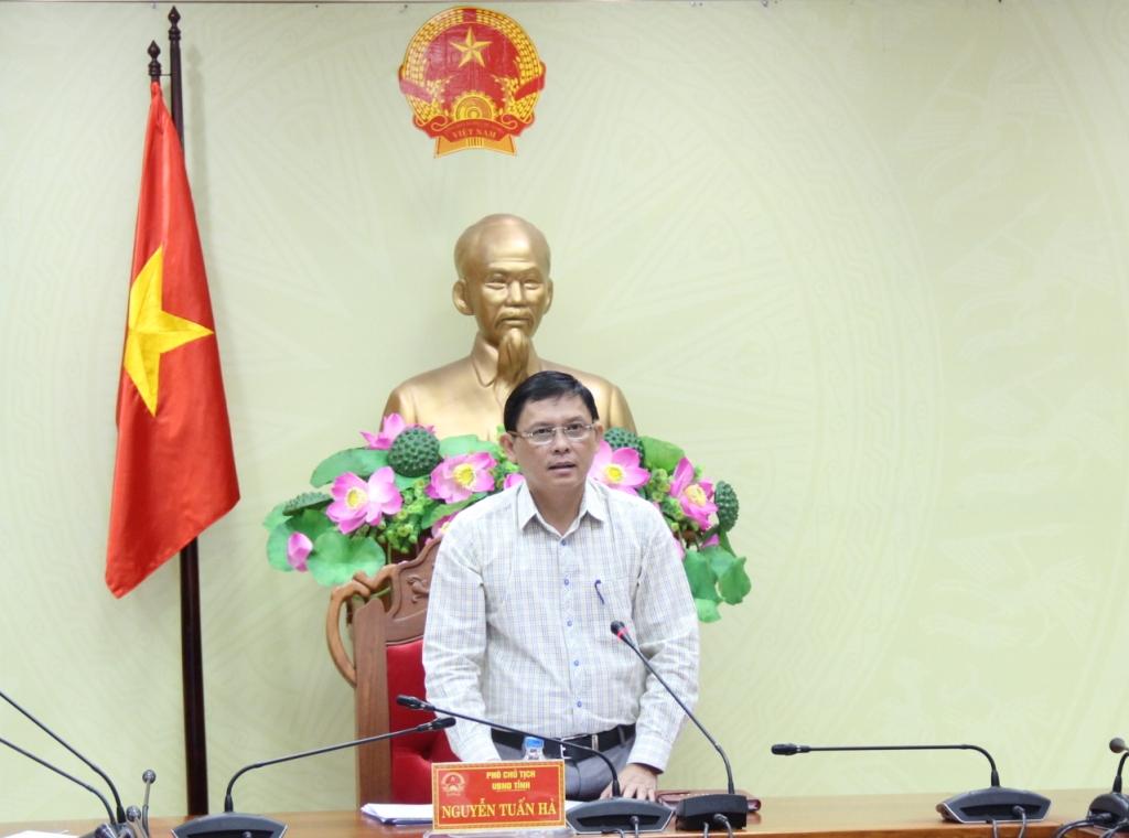 Kết luận của Phó Chủ tịch UBND tỉnh tại cuộc họp bàn về Bộ nhận diện thương hiệu tỉnh