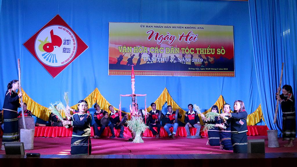 Ngày hội văn hóa các dân tộc thiểu số huyện Krông Ana lần thứ V năm 2019