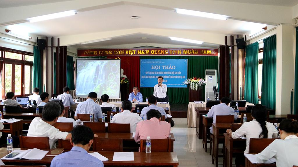 Góp ý Đề án Chương trình mỗi xã một sản phẩm, giai đoạn 2018 – 2020 trên địa bàn tỉnh Đắk Lắk