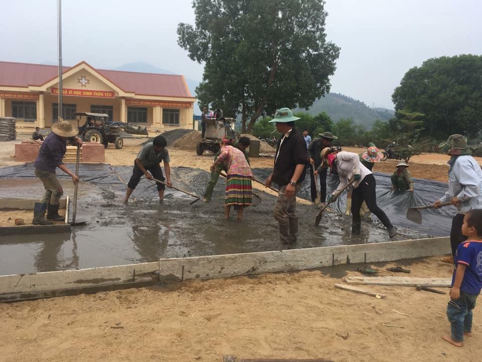 """""""Dân vận khéo"""" ở xã vùng sâu Cư Pui - Krông Bông"""