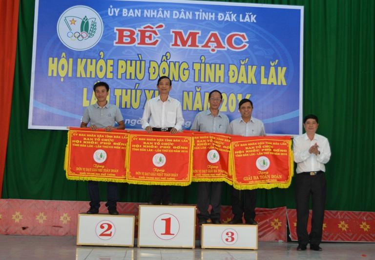 Bế mạc Hội khỏe Phù đổng tỉnh Đắk Lắk lần thứ XIII – năm 2016.