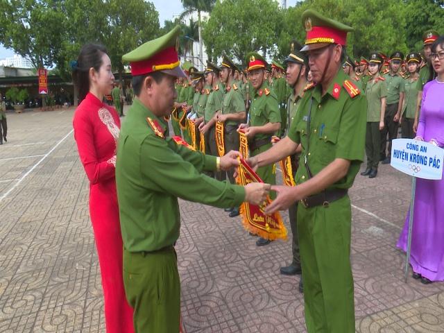 Khai mạc Hội thi Điều lệnh, quân sự võ thuật Công an nhân dân năm 2019