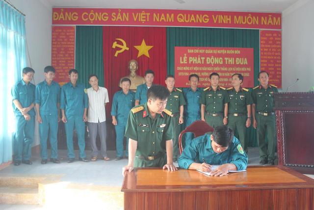 Phát động thi đua cao điểm chào mừng 65 năm Chiến thắng lịch sử Điện Biên Phủ