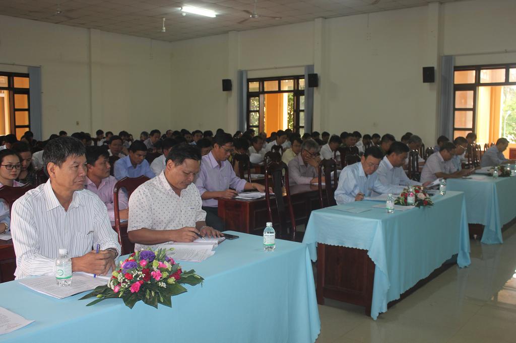 Hội nghị Ban Chấp hành mở rộng Huyện Cư Kuin lần thứ 25, nhiệm kỳ 2015-2020