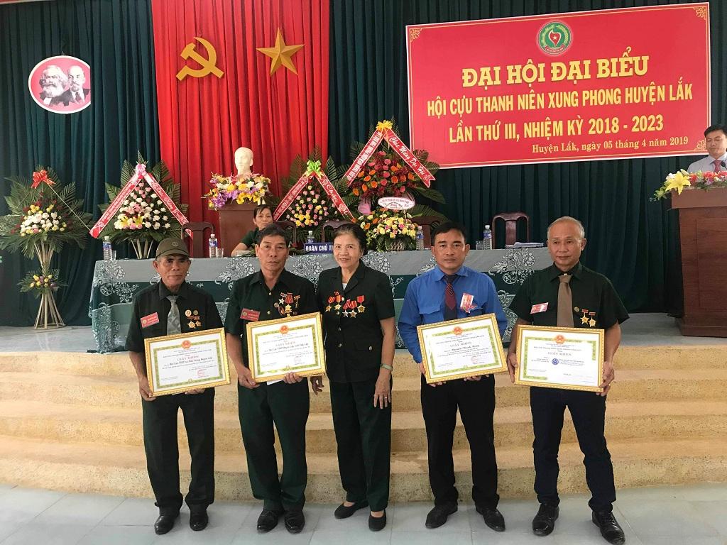 Đại hội Đại biểu Hội Cựu thanh niên xung phong huyện Lắk lần thứ III, nhiệm kỳ 2018 – 2023