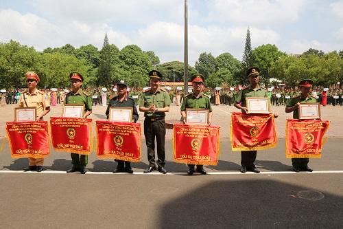 Bế mạc hội thi điều lệnh, quân sự, võ thuật CAND năm 2019