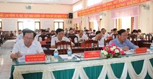 Huyện ủy M'Đrắk sơ kết công tác quý I năm 2019