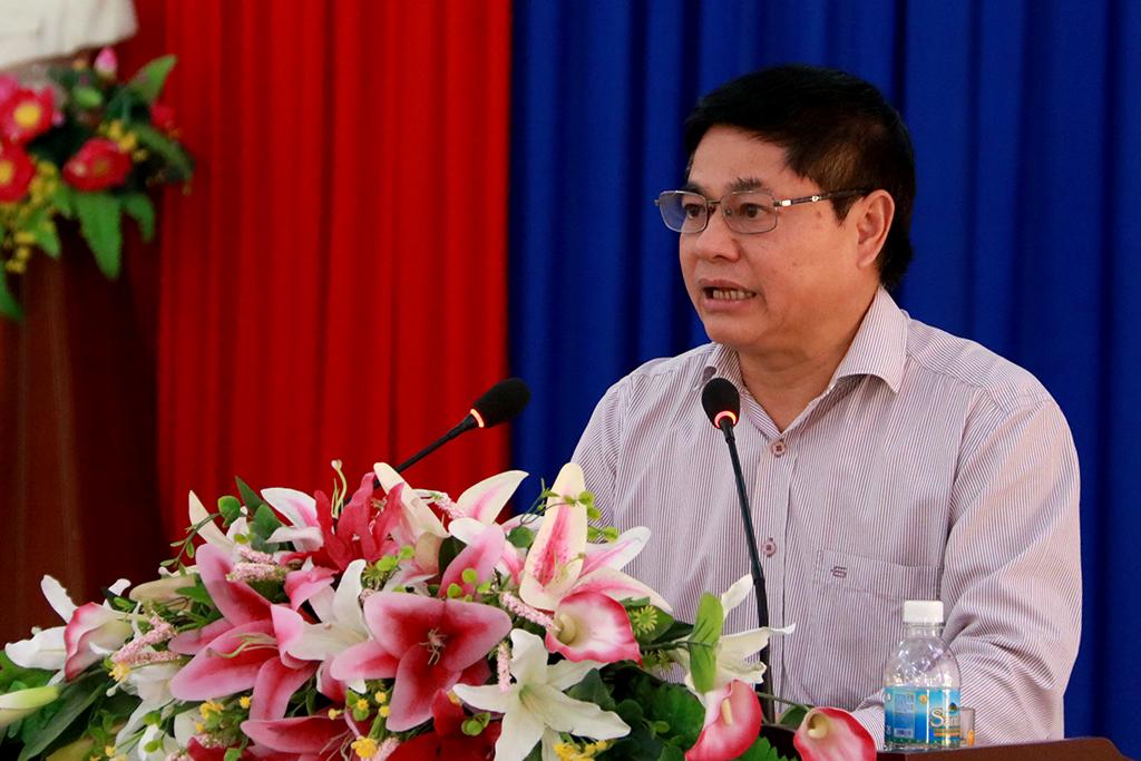 Thường trực Tỉnh ủy làm việc với Huyện ủy M' Drắk về tình hình thực hiện nhiệm vụ Quý I năm 2019