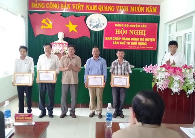 Hội nghị Ban Chấp hành Đảng bộ huyện Lắk lần thứ 16 (mở rộng)