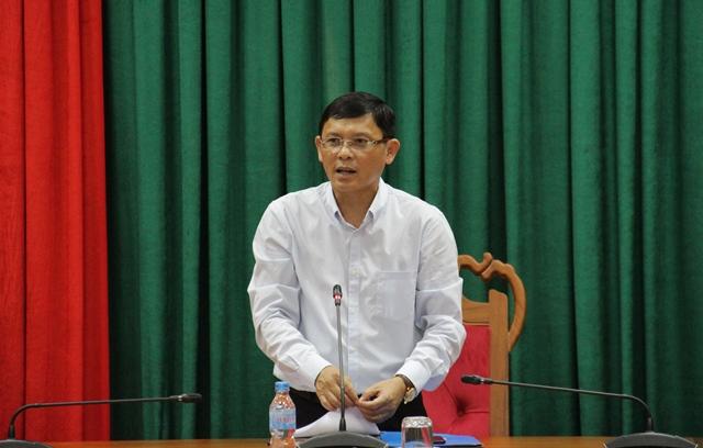 UBND tỉnh làm việc với Vườn ươm doanh nghiệp Đà Nẵng