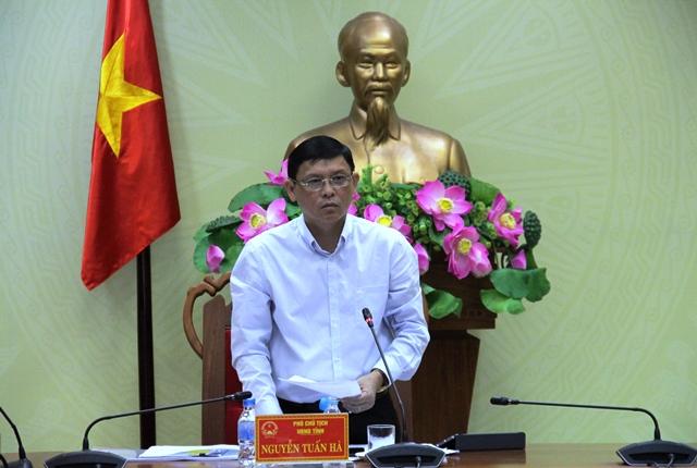 UBND tỉnh họp thống nhất triển khai các dự án của Tập đoàn Sao Mai,  VinGroup và Công ty cổ phần KVC Việt Nam
