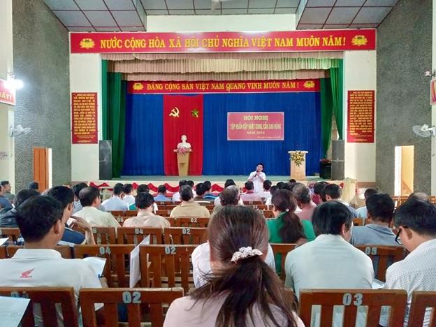 Huyện Lắk tập huấn hướng dẫn cập nhật thông tin cung, cầu lao động năm 2019