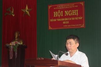 Huyện Cư Kuin triển khai tháng hành động vì an toàn thực phẩm năm 2019