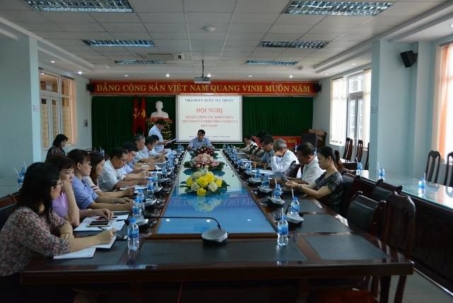 Ban Tuyên giáo Thành ủy triển khai nhiệm vụ Quý II năm 2019