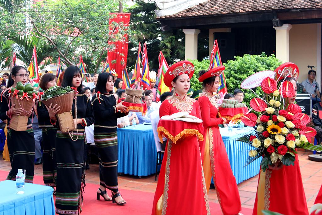 Lễ Giỗ Tổ Hùng Vương tại Đình Lạc Giao