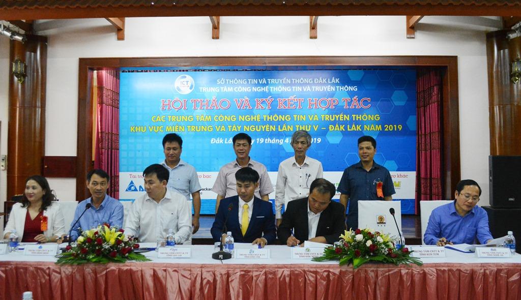 Trung tâm CNTT và Truyền thông khu vực Miền Trung và Tây Nguyên: Hợp tác, chia sẻ cùng phát triển