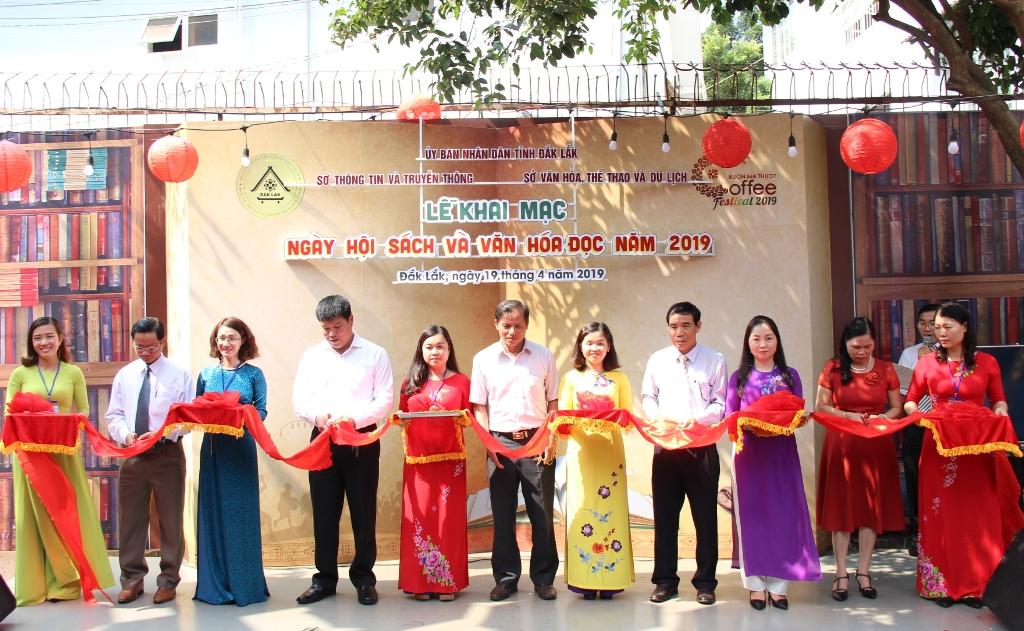 Khai mạc Ngày Hội Sách và Văn hóa đọc năm 2019 tại Đắk Lắk