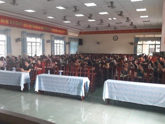 Hội LHPN Thị xã Buôn Hồ bồi dưỡng nghiệp vụ công tác hội năm 2019