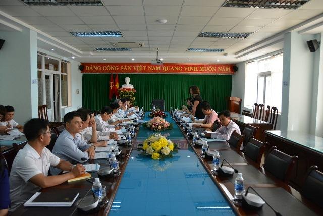 Đoàn công tác của Bộ trưởng Bộ Nội vụ làm việc với UBND thành phố Buôn Ma Thuột.