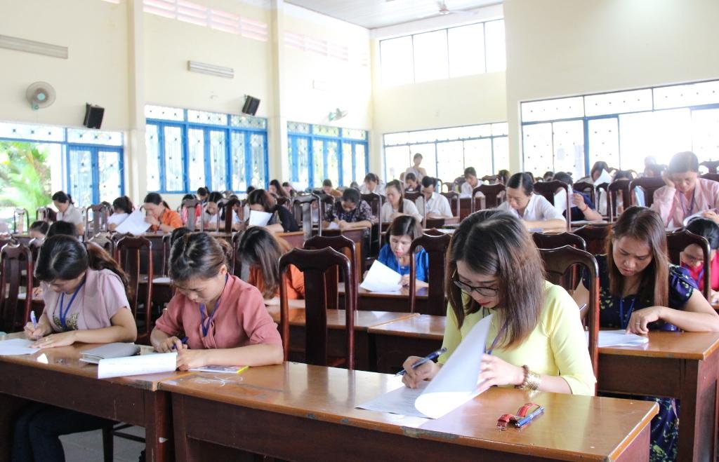 Khai mạc Hội thi nhân viên thư viện giỏi cấp tiểu học tỉnh Đắk Lắk năm học 2018-2019